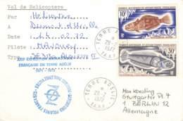 Let 009 - T.A.A.F. - Terre Adélie 1972 - Covers & Documents