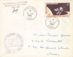 Let 013 - T.A.A.F. - Terre Adélie - 1966 - Covers & Documents
