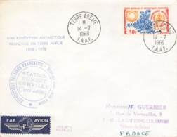Let 023 - T.A.A.F. - Terre Adélie - 1969 - Covers & Documents