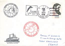 Let 101 - Antarctic Tourist Expedition - Lindblad Travel, Inc. , New York - Palmer Station U.S.A. - 1974 - Unclassified