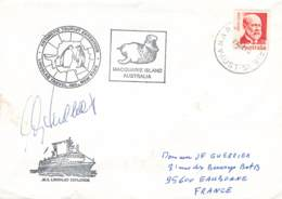 Let 116 - Australie - Macquarie Island Australia - 1975 - Brieven En Documenten