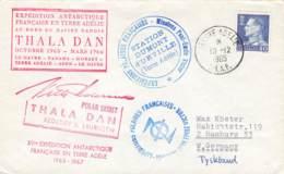 Let 126 - Danemark - Terre Adelie - Thala Dan - 1965 - Stamps