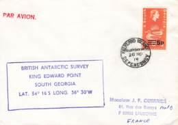 Let 139 - South Georgia - British Antarctic Survey King Edward Point - 1974 - Stamps