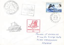 Let 138 - BAT - Argentine Islands U.K. - 1974 - Brieven En Documenten