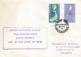Let 140 - South Georgia - British Antarctic Survey King Edward Point - 1974 - Stamps