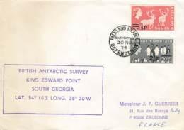 Let 142 - South Georgia - British Antarctic Survey King Edward Point - 1974 - Stamps