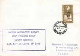 Let 141 - South Georgia - British Antarctic Survey King Edward Point - 1974 - Stamps