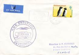 Let 146 - Islande - 1974 - H.M.B. Endurance Antarctica - Stamps