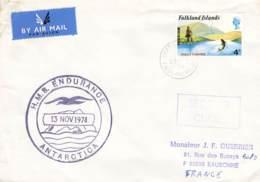 Let 148 - Islande - 1974 - H.M.B. Endurance Antarctica - Stamps