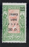SPM MIQUELON YT 290 NEUF* TB - Unused Stamps