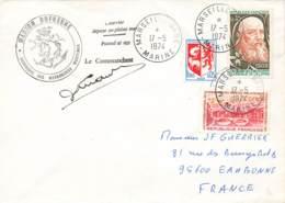 Let 185 - France - Marion Dufresne - 1974 - Stamps