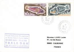 Let 218 - T.A.A.F. - Dumont D'Urville - Terre Adélie - 1974 - Lettres & Documents