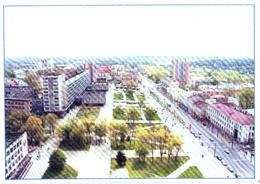 Belarus:Mahilyo, Pervomaiskaja Street - Belarus