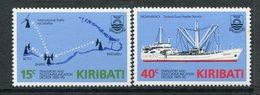 Kiribati 1985 Transport And Telecommunications Decade Set MNH (SG 249-50) - Kiribati (1979-...)