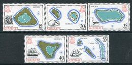 Kiribati 1986 Island Maps - 5th Issue - Set MNH (SG 256-60) - Kiribati (1979-...)