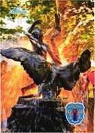 Belarus:Minsk, Alyaksandrauski Mini-park, Fountain Boy With A Swan, 2005 - Belarus