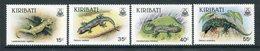 Kiribati 1986 Geckos Set MNH (SG 261-64) - Kiribati (1979-...)