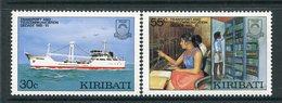 Kiribati 1987 Transport And Telecommunications Set MNH (SG 268-69) - Kiribati (1979-...)
