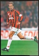 Franco Baresi MILAN Football Player Carte Size Carte Postale - Fussball