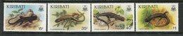 Kiribati 1987 Skinks Set MNH (SG 274-77) - Kiribati (1979-...)