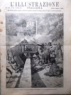L'Illustrazione Italiana 5 Ottobre 1890 Varo Sardegna Tram Cavalleria Rusticana - Vor 1900