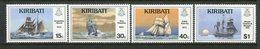 Kiribati 1989 Nautical History - 1st Issue Set MNH (SG 295-98) - Kiribati (1979-...)