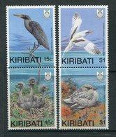 Kiribati 1989 Birds With Young Set MNH (SG 299-302) - Kiribati (1979-...)