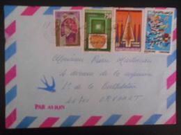 Tunisie Lettre De Monastir 1988 Pour Orvault - Tunesien (1956-...)