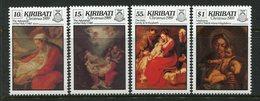 Kiribati 1989 Christmas Set MNH (SG 318-21) - Kiribati (1979-...)