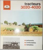 PROSPECTUS DÉPLIANT DOCUMENT PUBLICITAIRE JOHN DEERE MATÉRIEL AGRICOLE TRACTEUR 3020 4020 - Do-it-yourself / Technical
