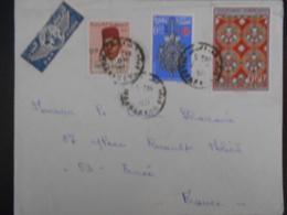 Maroc , Lettre De Marrakech 1971 Pour Ernee - Morocco (1956-...)