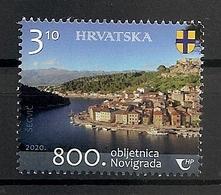CROATIA 2020,800 YEARS OF TOWN NOVIGRAD,SEE,MNH - Croatia