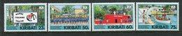 Kiribati 1992 25th Anniversary Of Marine Training Centre Set MNH (SG 386-89) - Kiribati (1979-...)