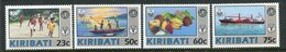 Kiribati 1992 United Nations World Health And Food/Agriculture Organizations Set MNH (SG 390-93) - Kiribati (1979-...)