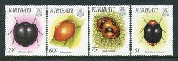 Kiribati 1993 Insects Set MNH (SG 402-05) - Kiribati (1979-...)