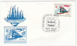 Austria Winter Olympic Games Innsbruck 1976 12 FDCs B200601 - Winter 1976: Innsbruck