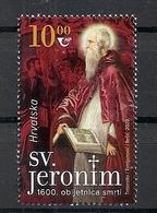 CROATIA 2020,ST. JEROME,RELIGION,,MNH - Christianity