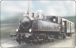 Slowenien Chip Phonecard Train Eisenbahn Zug - Slovénie