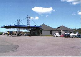Estonia:Saaremaa Island, Kuressaare, Gas Station, 2015 - Estonia