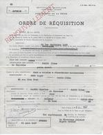 75.- PARIS  ORDRE DE EQUISITION - Documentos Históricos