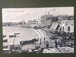 TRIPOLI-Vue Prise Du Quai - Libye