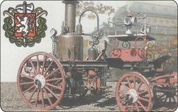 Cesky Chip Phonecard Very Old Train Eisenbahn Zug - Tsjechië