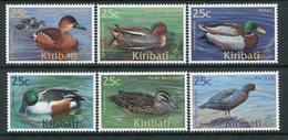 Kiribati 2001 Ducks Set MNH (SG 619-24) - Kiribati (1979-...)