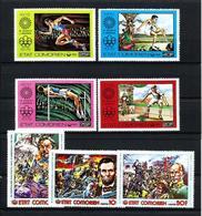 Comores Nº 150/3-167/9 Nuevo - Comores (1975-...)