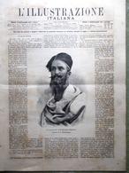 L'Illustrazione Italiana 19 Ottobre 1890 Pinerolo Cavour Giappone Crispi Vigna - Vor 1900