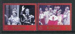 Kiribati 2003 50th Anniversary Of Coronation Set MNH (SG 674-75) - Kiribati (1979-...)