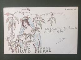S.MAXENS- Vigne Vierge - Künstlerkarten