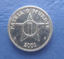CUBA 1 CENTAVO 2001 AUNC - Kuba