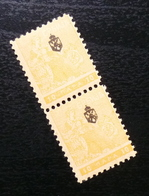 Serbia 1911 Newspaper Stamps Pair B3 - Serbia