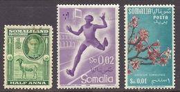 Somalia - Fauna, Sheep, Sport Athletics, Flowers, Adenium Somalense - Used - Somalia (1960-...)
